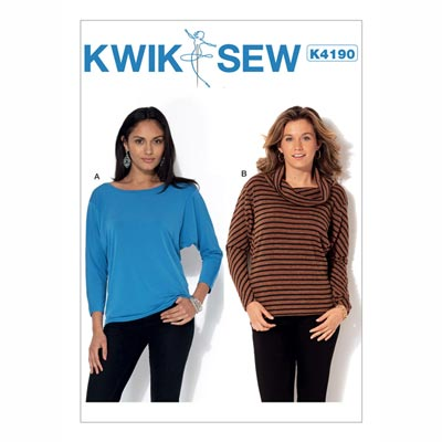 Tops, KwikSew 4190 | XS - XL