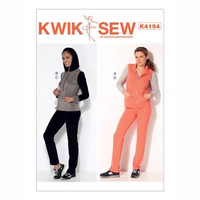 Jacke | Weste, KwikSew 4194 | XS - XL