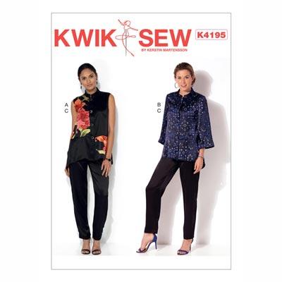 Jacke | Weste, KwikSew 4195 | XS - XL