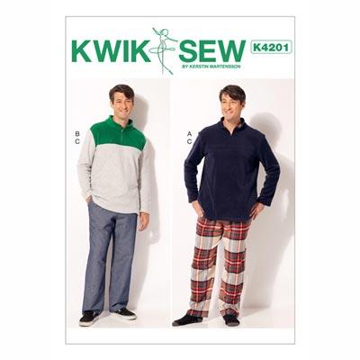 Herren - Pullover | Hose, KwikSew 4201 | S - XXL