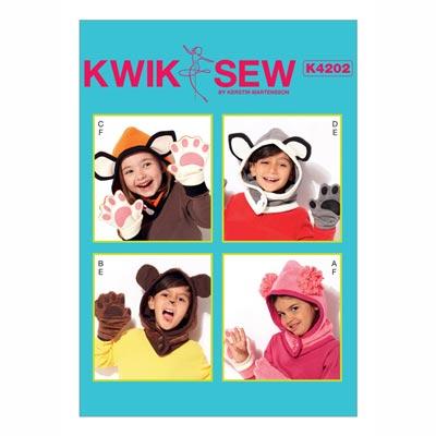Handschuhe/Kapuze/Accessoires, KwikSew 4202