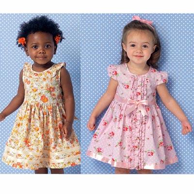 Kinderkleid, KwikSew 0192 | 80 - 104