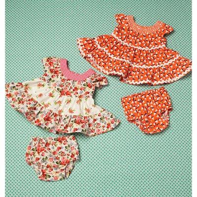 Babykleider | Höschen, KwikSew 0198 | 62 - 86