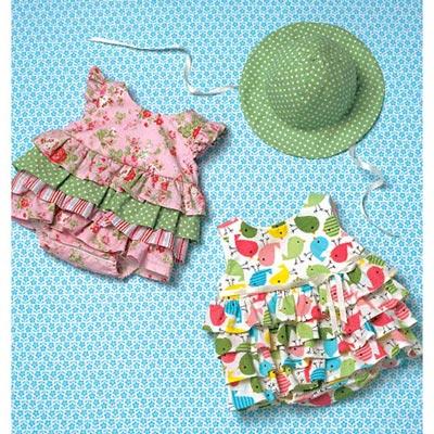 Babystrampler | Hütchen, KwikSew 4094 | 62 - 86
