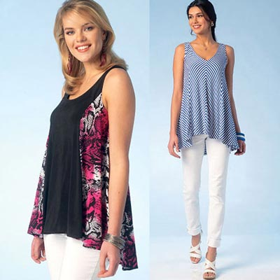 Tops, KwikSew 4101 | XS - XL