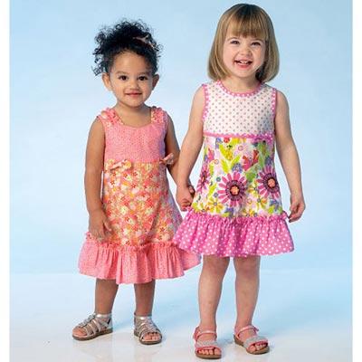 Kinderkleid, KwikSew 4109 | 80 - 104