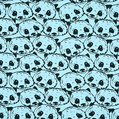 Jersey Pandaberen 3 – turkoois
