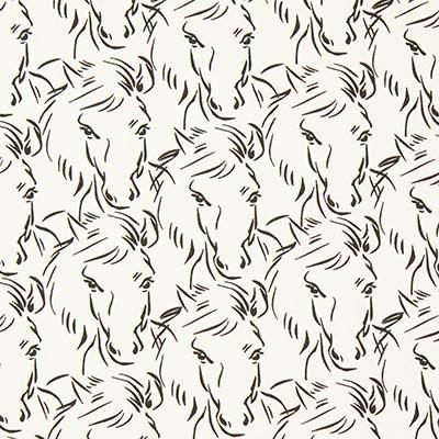 Jersey Paarden 1 – ecru