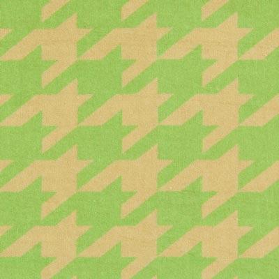 Samt Hahnentritt – grasgrün