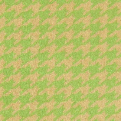 Samt Hahnentritt klein – grasgrün