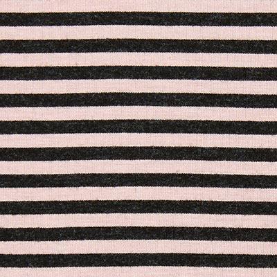 Jersey de viscosa a rayas 3 – rosa antiguo