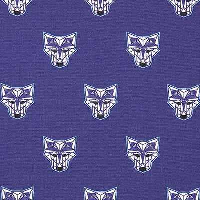 Wild Wolf Cotton 1 – navy