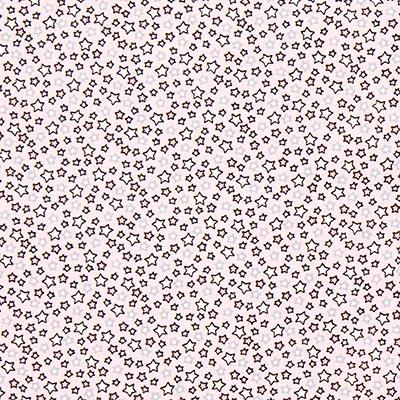 Katoenen stof Sterrenparade 5 – roze