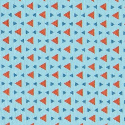 Pana fina Triángulos 3 – azul