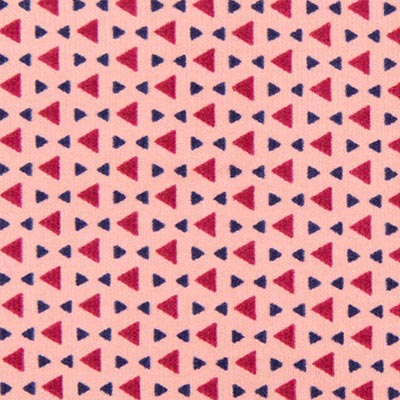 Triangles Baby Cord 2 – pink
