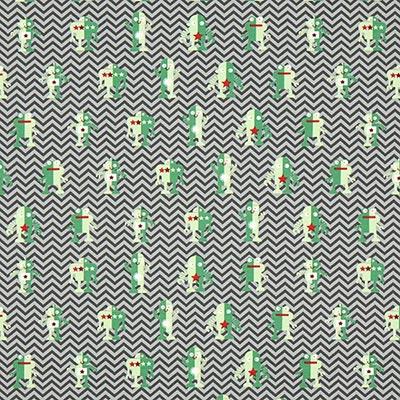 Robot Cotton Jersey 1 – grey
