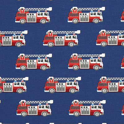 Fire Engine Cotton Jersey 1 – blue