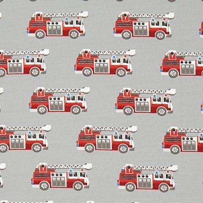 Katoenjersey Brandweer 2 – grijs