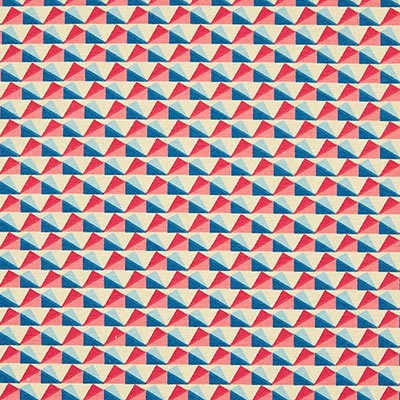 Zomersweat driehoeken 4 – beige