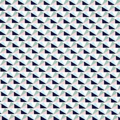 Zomersweat driehoeken 3 – wit