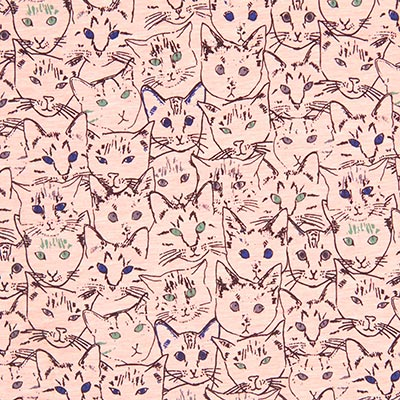 Sudadera de verano Cat Mania 1 – rosa