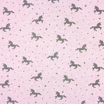 Glitter Unicorn Summer Sweatshirt Fabric 4 – lilac