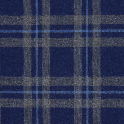Flanellstoff Indigo – marineblau