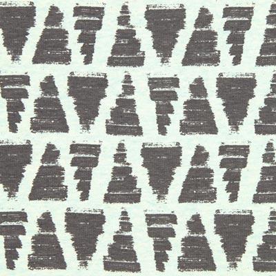 Sweatshirt Driehoek – mintgroen