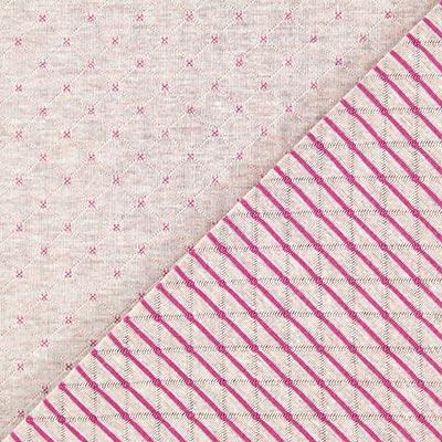 Dubbelzijdige jersey – roze