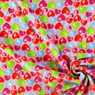 Snuggly velours fabric