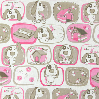 Queridos novos tecidos para crianças com desenhos de animais