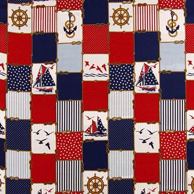 Tecidos de decoração marítima