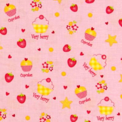 Tecidos de algodão frutados