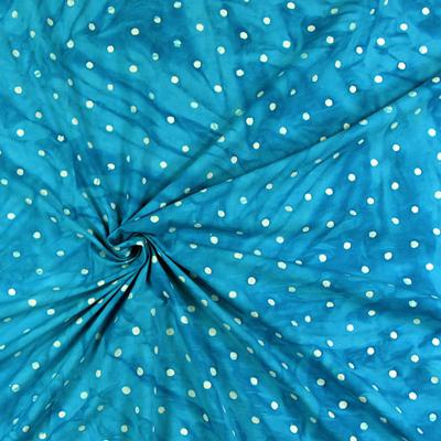 Tecidos de algodão batique pontilhado