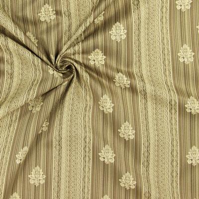 Extra ancho: nuevas telas nobles de Jacquard