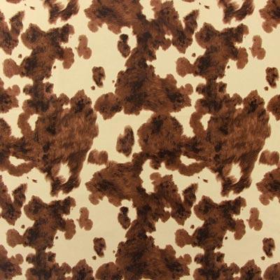 """Faz """"muuuuuh"""": Tecido de mobiliário em ótica de pele de vaca"""