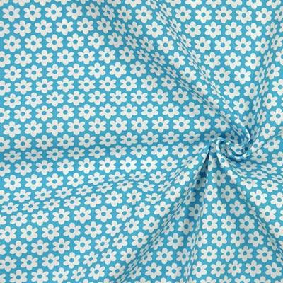 Tecidos de algodão floreados