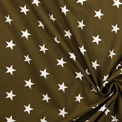 Tecidos de algodão com estrelas