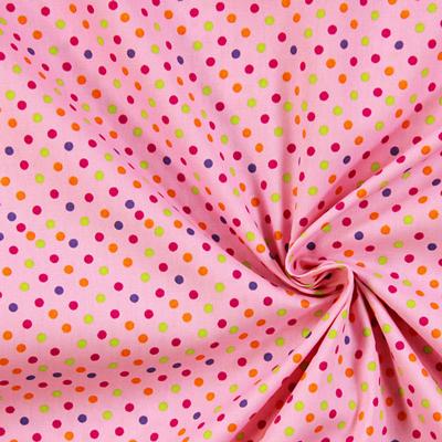 Telas de algodón de puntos