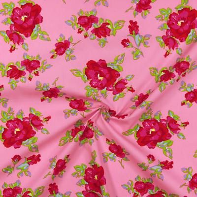 Tecidos de algodão com estampas florais