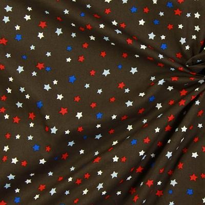 Bavlněné látky s hvězdičkami