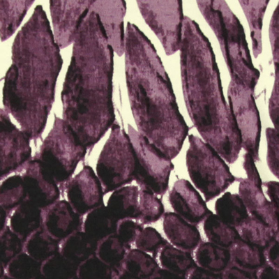 Tecidos Jersey em ótica de cobra