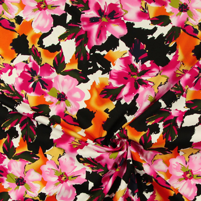 Ekstrawaganckie wzory w kwiaty
