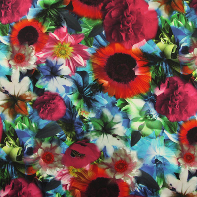 Very trendy: jersey fabrics with digital print