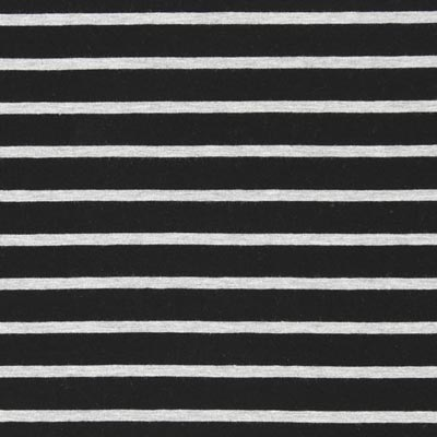 Stripey Jersey – black