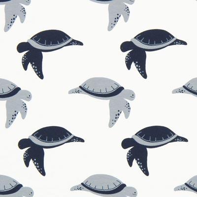 Jersey Schildpad – wit