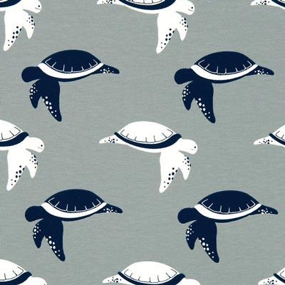 Jersey Schildpad – grijs