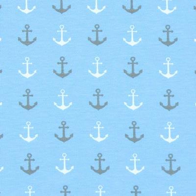 Jersey Ahoi anker – lichtblauw