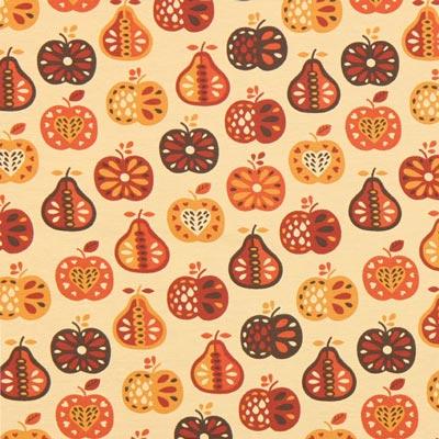 Jersey Peren en appels – lichtbeige