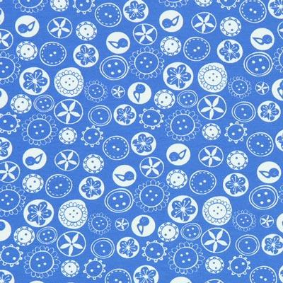 Tela de jersey Cosillas – azul